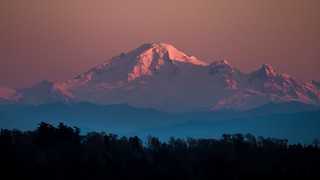Mount Baker Sunset