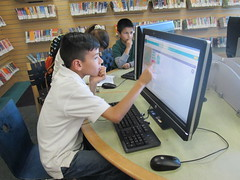 Hour of Code at the Alum Rock Branch