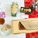 Ladurée Bûche Exotic & Exotic Gift Box of Holiday 2014 limited edition macarons