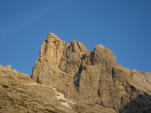 Die 2153 m hohe Schärtenspitze