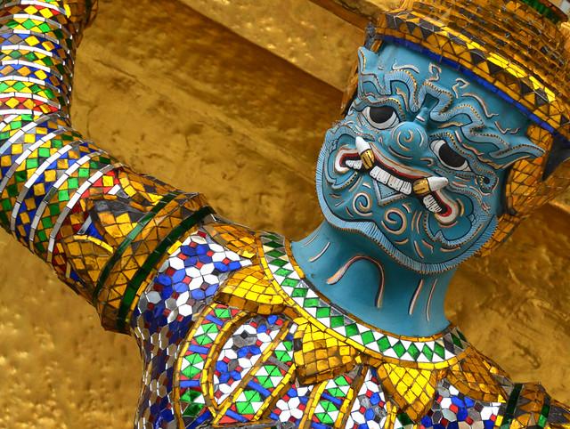 Guardián del Gran Palacio de Bangkok