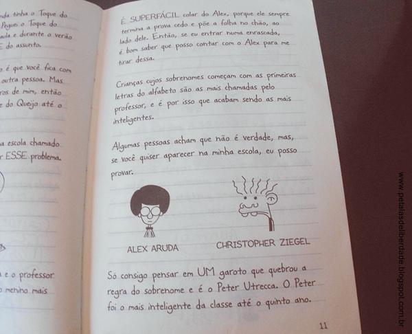Trecho do livro Rodrick é o Cara
