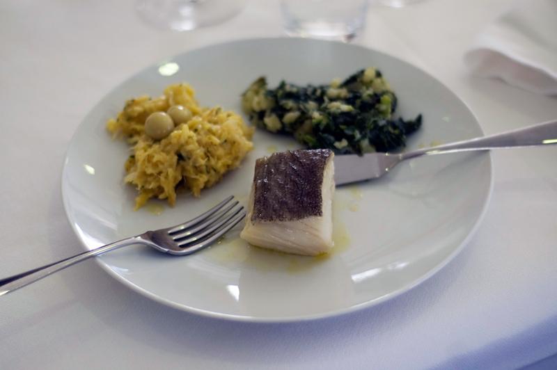 Bacalhau confitado, chef José Avillez