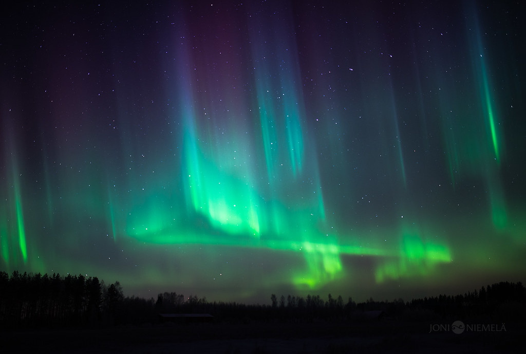 Northern Lights Of Christmas