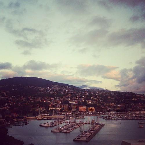 Good morning, Hobart!