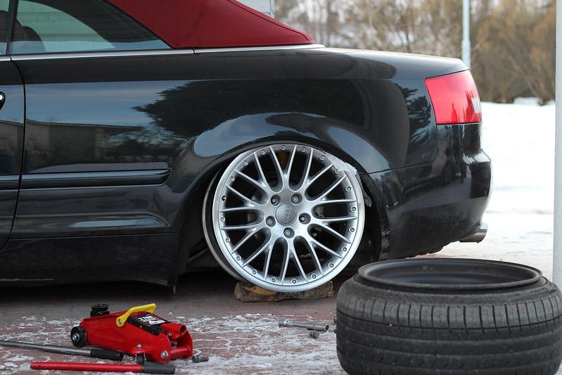 jusni: Audi A4 Bagged Bathtub - Sivu 3 15948408164_ae81c2fece_c