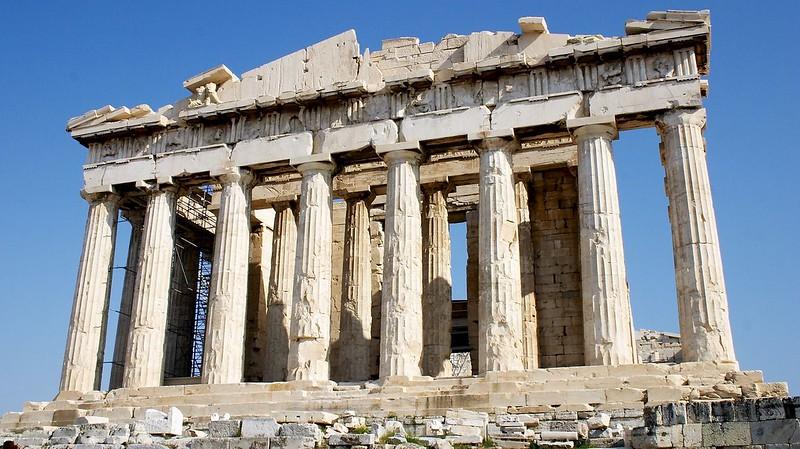 Parthenon in November 2005