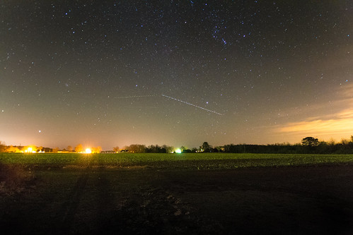 above neck way stars virginia farm over trail northern comet milky millenbeck