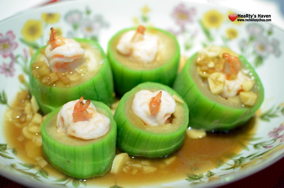 Shrimp-Stuffed Patola
