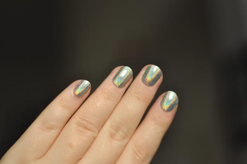 notd gosh holographic nail polish rottenotter rotten otter blog 5