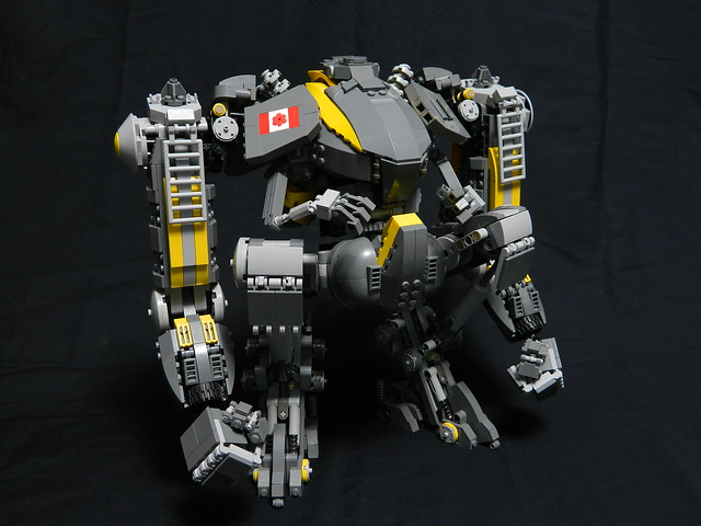 Overseer Assault Mech (No Head)