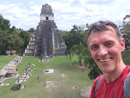 me at Tikal