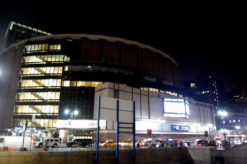 Madison Square Garden by night
