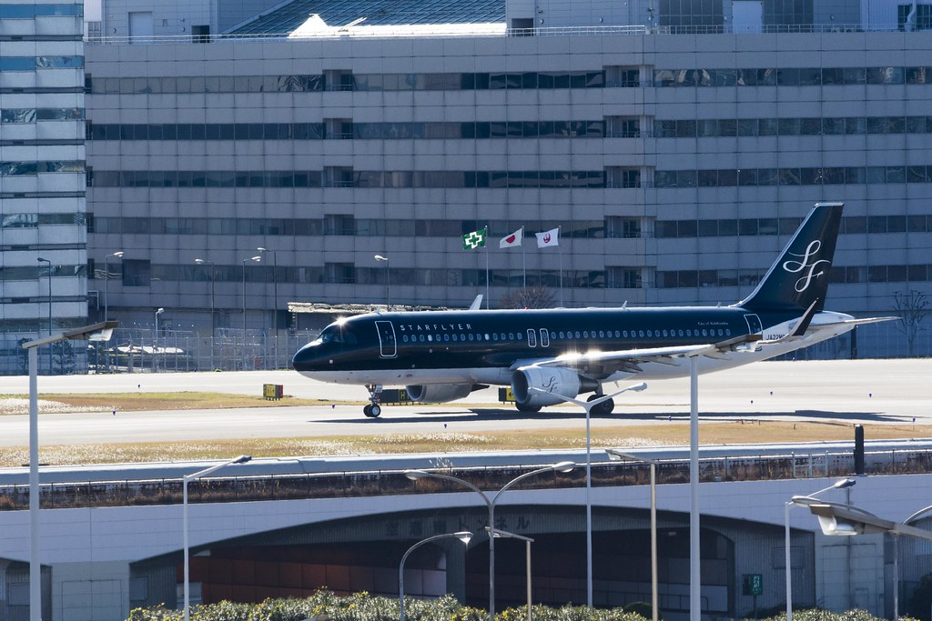 StarFlyer - AirBus A320 at Tokyo International Airport