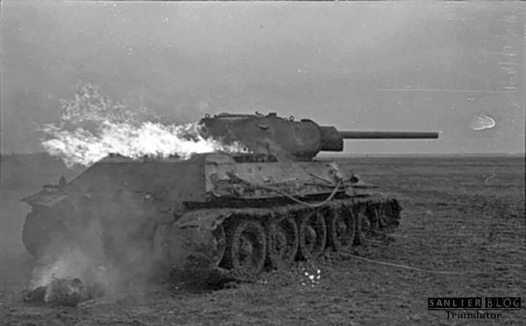 坦克战:活活烧死02