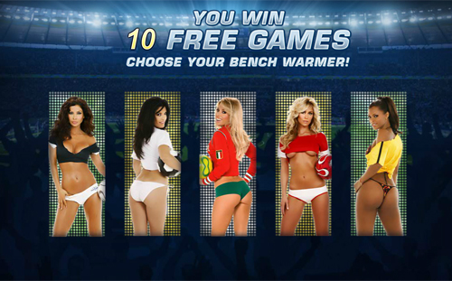 Benchwarmer Football Girls Slots - Play Online for Free Now