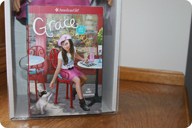 Grace Thomas Girl of the Year from American Girl Book
