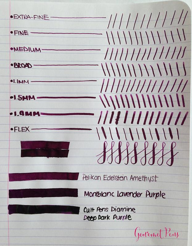 Ink Shot Review Pelikan Edelstein Amethyst @AppelboomLaren @Pelikan_Company (3)