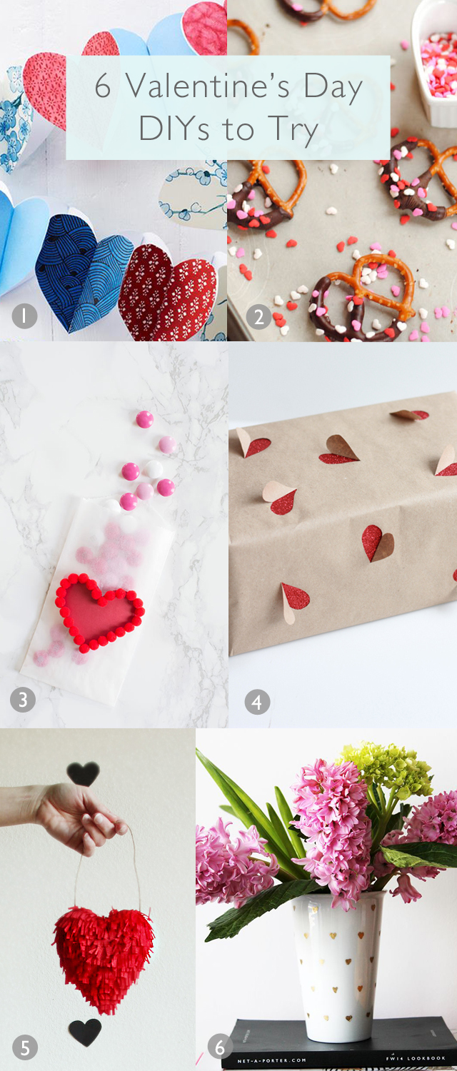 6 Valentine's Day DIYs to Try | www.vitaminihandmade.com