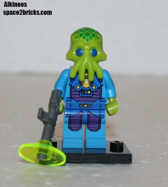 Lego Minifig série 13 alien soldier p1