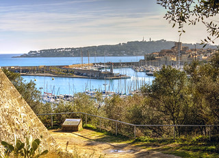 Image of Fort Carré. france port fort olympus antibes omd carré em5 liquidphotos