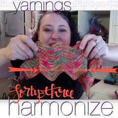 yarnings episode 43: harmonize   http://yarningspodcast.com
