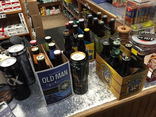 Ticking Shelf Beers