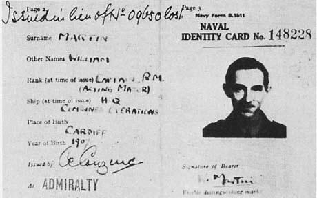 Identificación de William Martin