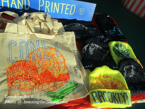 Hand-printed Tees and Hats at Brooklyn Rock