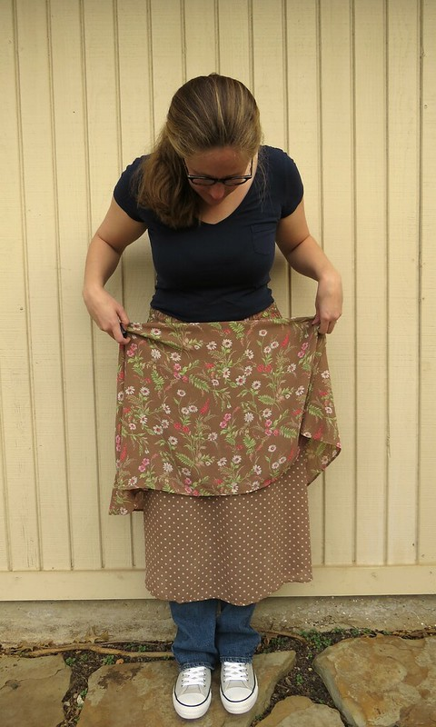 UGLY Skirt Challenge - Before