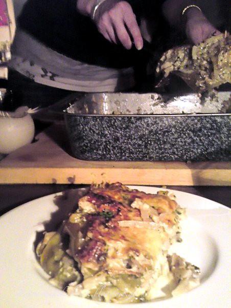 Kohlrabi-Fenchel-Lasagne