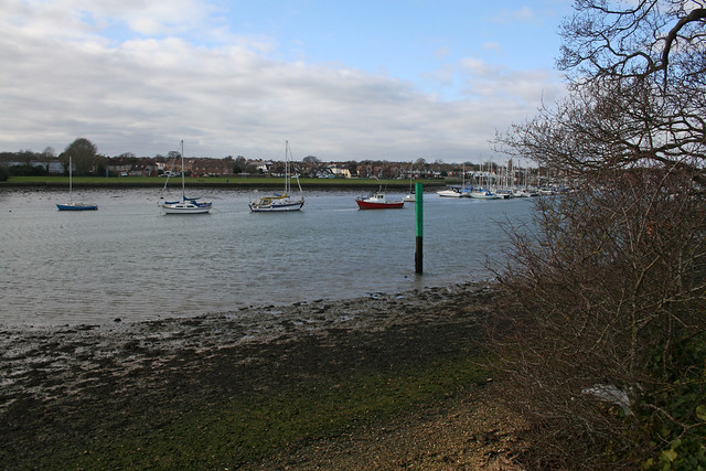 Portsmouth Harbour near Fareham