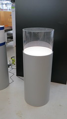 Ambient Lit Cylinder with Dust Cover