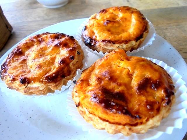 Mitsu sweet potato tarts
