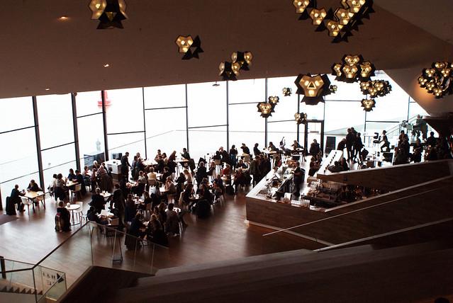Café restaurant du Eye d'Amsterdam