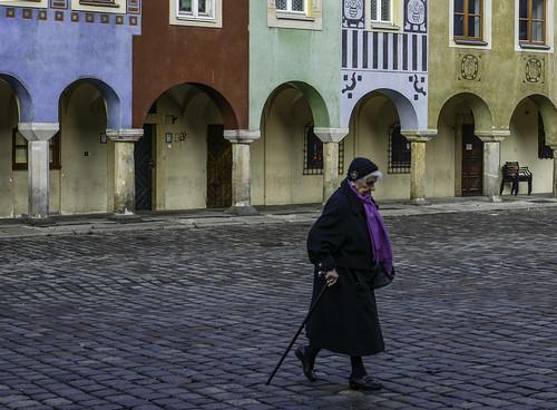 Walking on Stary Rynek