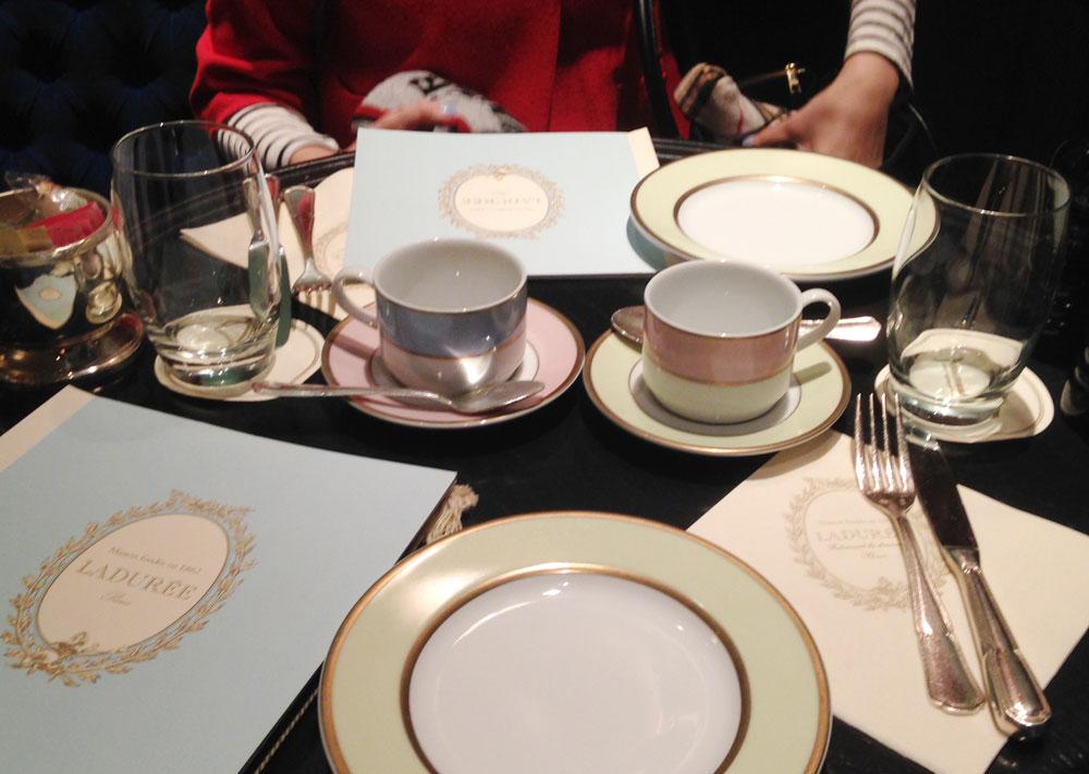 Laudree brunch table spread