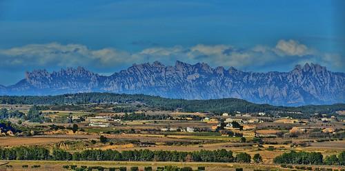 catalonia montserrat catalunya cataluña muntanya paisatge panoràmica serralada altpenedès santmartísarroca