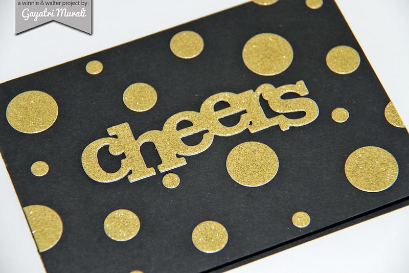 Cheers card flat