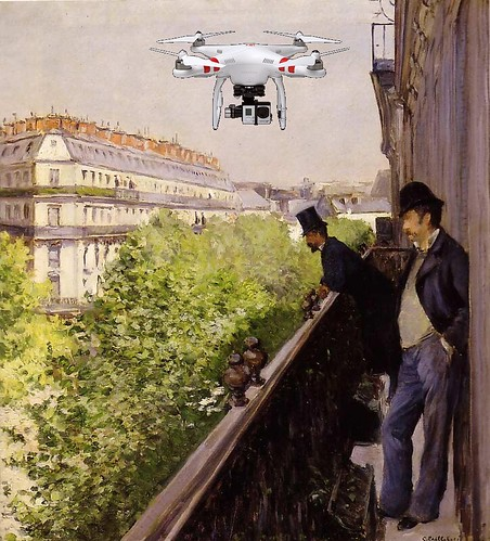 Drones Over Paris
