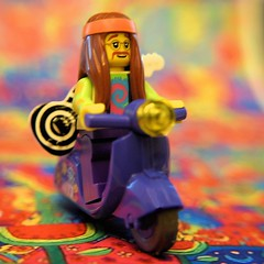 LEGO Hippie went home after the gig!
