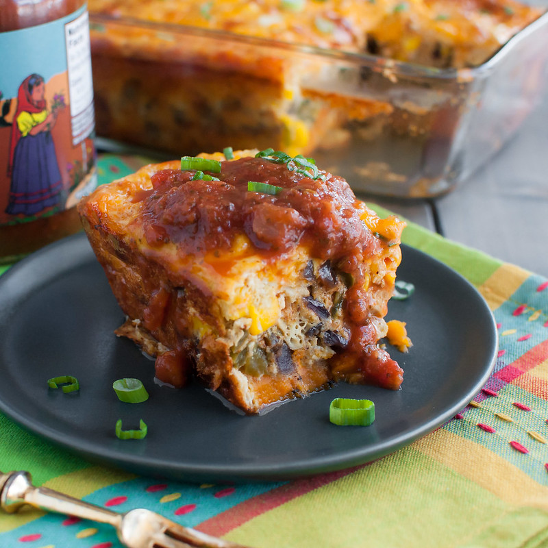 Southwest Sweet Potato and Egg Bake - Natural Comfort Kitchen