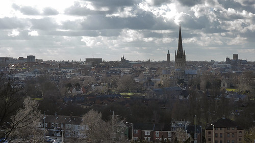 city castle hall cityscape cathedral library horizon norfolk peter heath norwich mancroft mousehold
