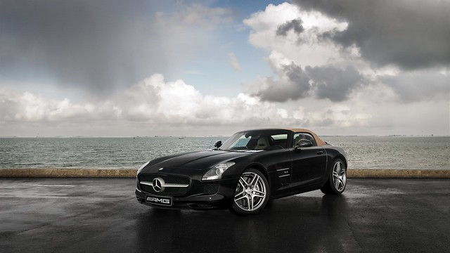 Mercedes-Benz SLS AMG Roadster - Explore #131, March 6 2015
