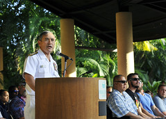 Adm. Harry B. Harris, Jr., commander, U.S. Pacific Fleet,