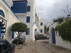 Sidi Bou Said in Tunis, on our MSC Cruise