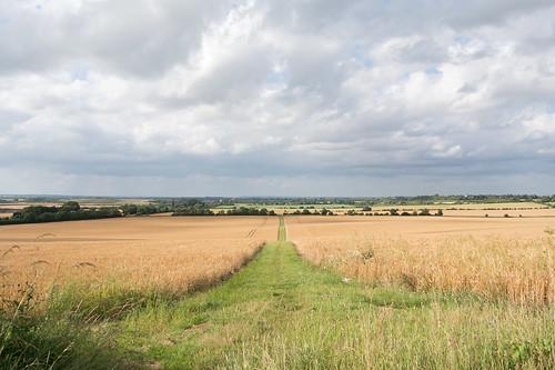 Near Ickleford