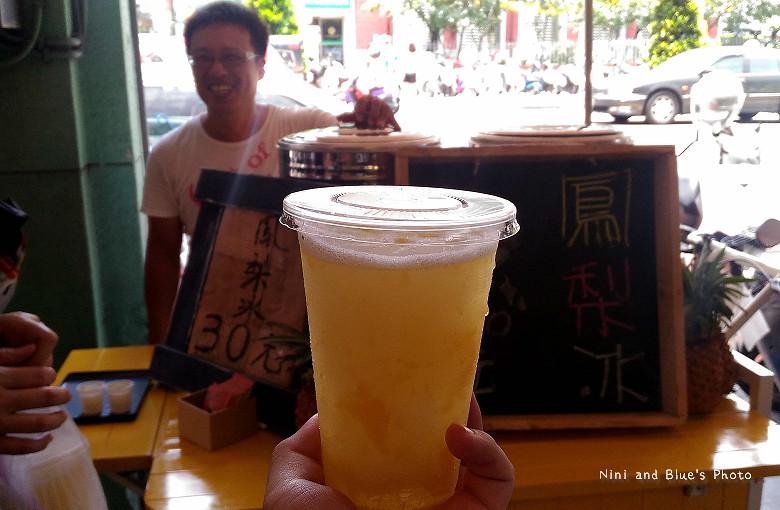 台中火車站飲料自由路鳳梨冰15