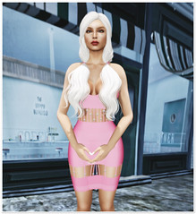 + [ l u x ] (Trendz) - Amani Dress (Bubblegum)