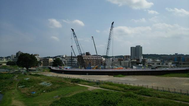 多摩水道橋からの眺め
